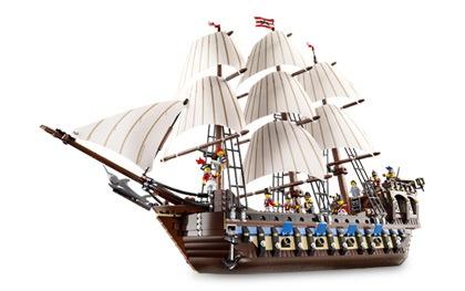 Lego-Schiff