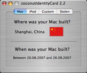 Coconut-Macbook